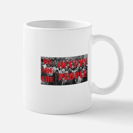OccupyPeopleLogo. Mugs