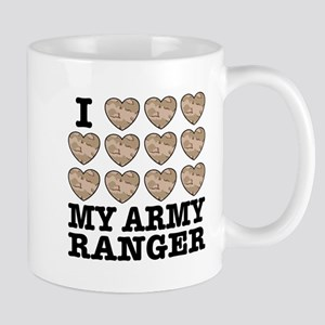 I Love My Army Ranger Mug