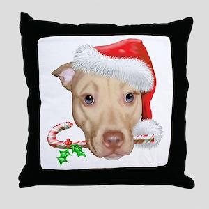 Zoey Christmas Throw Pillow