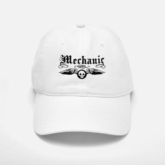 Mechanic Baseball Baseball Cap
