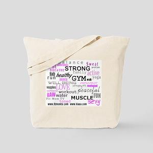 Positive Vibes Logo Tote Bag