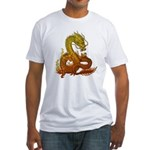 Gold ryuu Fitted T-Shirt