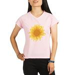 Elegant Sunflower Performance Dry T-Shirt