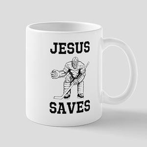 Jesus Saves - Hockey 1 Mug