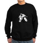 Jesus Saves - Hockey 3 Sweatshirt (dark)