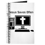 Jesus Saves Often Journal