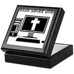 Jesus Saves Often Keepsake Box
