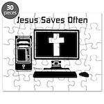 Jesus Saves Often Puzzle
