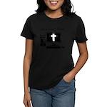 Jesus Saves Often Women's Dark T-Shirt