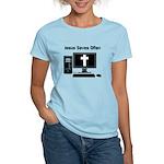 Jesus Saves Often Women's Light T-Shirt