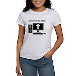 Jesus Saves Often Women's T-Shirt