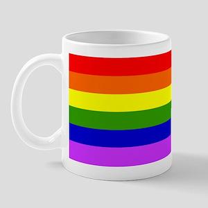Rainbow Pride Flag Mug (Laft handed)