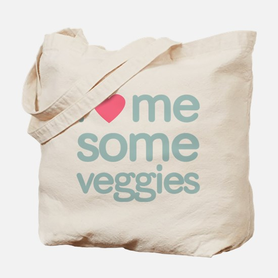 I Heart Me Some Veggies Tote Bag