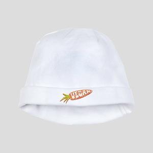 Vegan Carrot baby hat