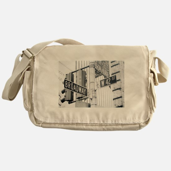 NY Broadway Times Square - Messenger Bag