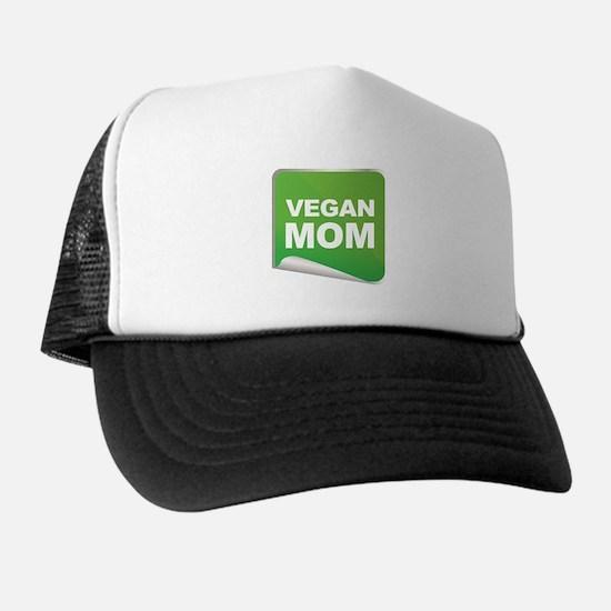 Vegan Mom Label Trucker Hat