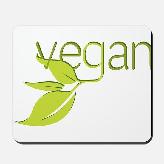 Leafy Vegan Mousepad