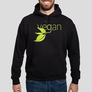 Leafy Vegan Hoodie (dark)