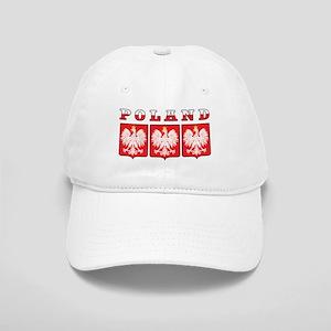 Poland Flag Eagle Shields Cap