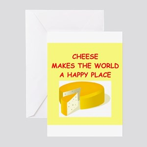cheese Greeting Cards (Pk of 20)