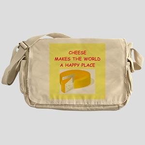 cheese Messenger Bag