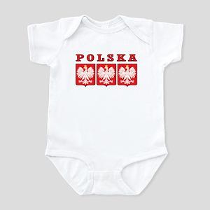Polska Eagle Shields Infant Bodysuit