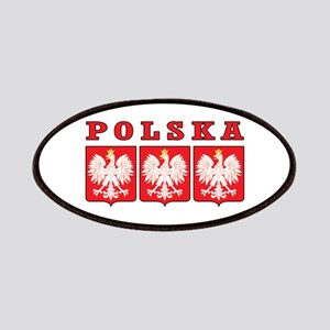 Polska Eagle Shields Patches