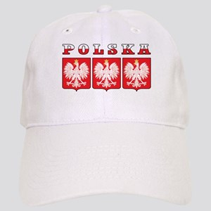 Polska Flag Eagle Shields Cap