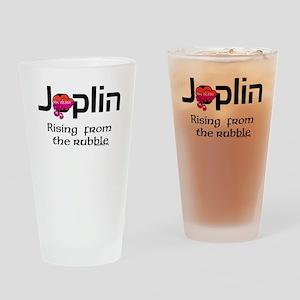 Joplin Rising From The Rubble Drinking Glass