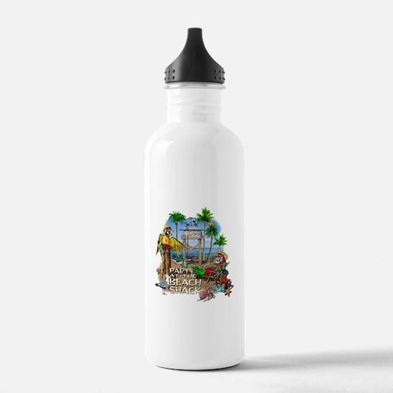 Parrots Beach Party Water Bottle