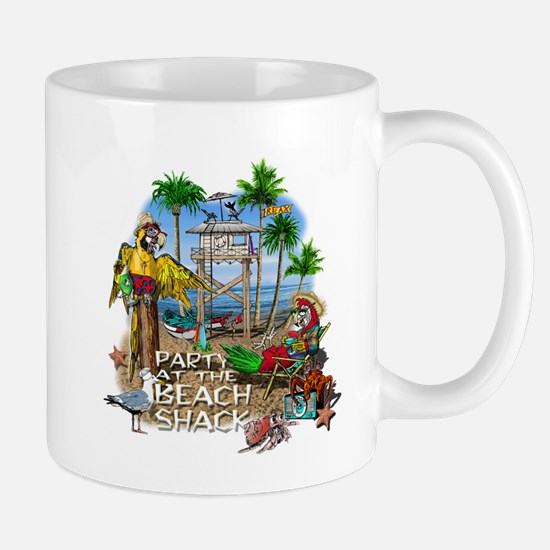 Parrots Beach Party Mug