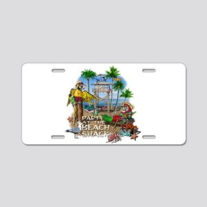 Parrots Beach Party Aluminum License Plate
