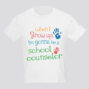 Kids Future School Counselor Kids Light T-Shirt
