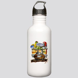 Pirate Parrots Stainless Water Bottle 1.0L