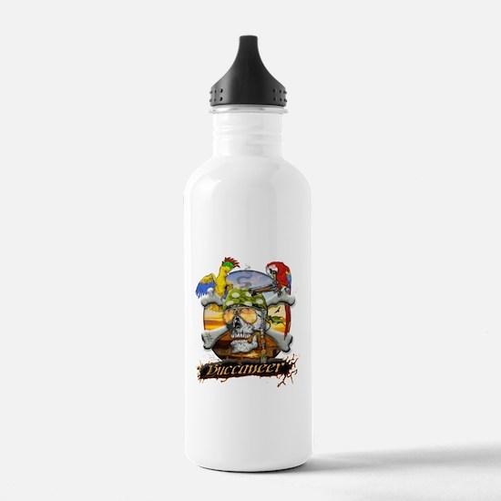Pirate Parrots Water Bottle