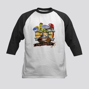 Pirate Parrots Kids Baseball Jersey