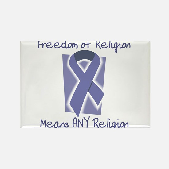 Freedom Rectangle Magnet