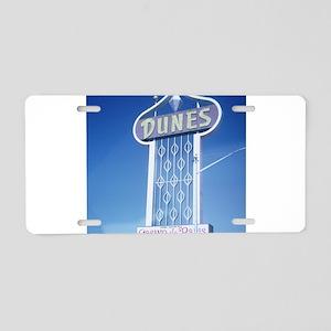Las Vegas Dunes Hotel Aluminum License Plate
