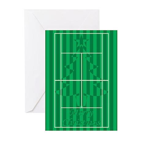 Hidden Tree - Tennis Christmas Cards (Pk of 10)