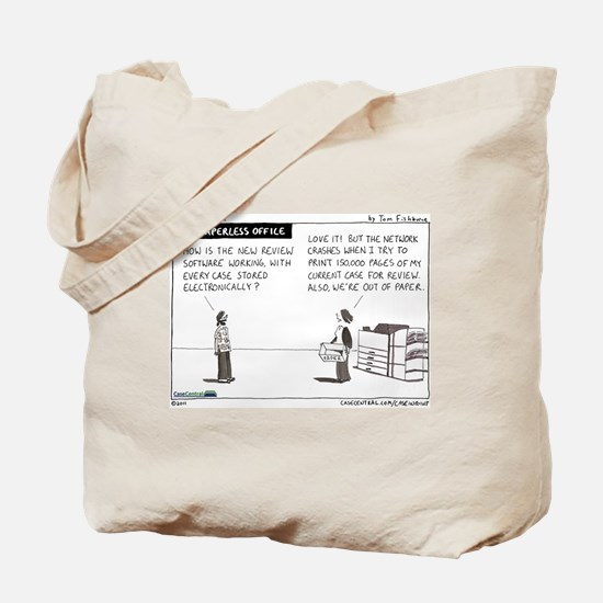 The Paperless Office Tote Bag