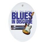 Blues In Disguise Ornament (Oval)
