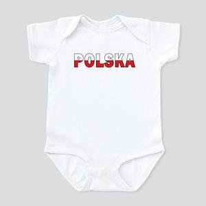 Polska Flag Infant Bodysuit