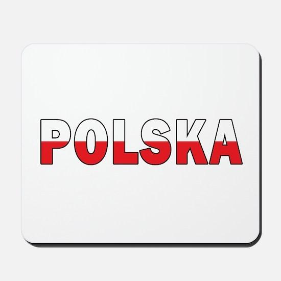 Polska Flag Mousepad
