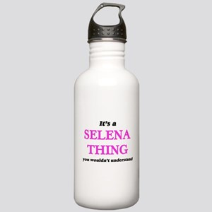 It's a Selena thin Stainless Water Bottle 1.0L