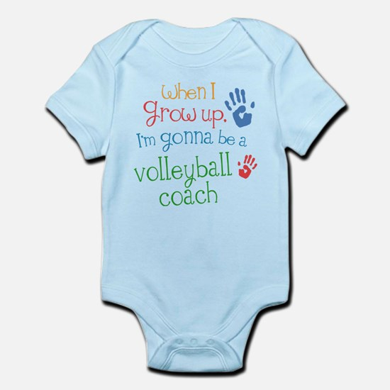 Kids Future Volleyball Coach Infant Bodysuit