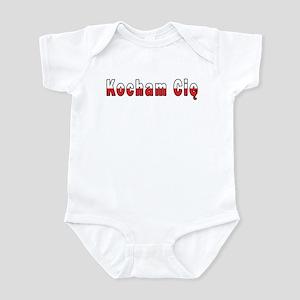 Kocham Cie - I Love You Infant Bodysuit