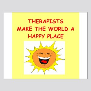 Therapists Small Poster