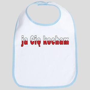 ja cie kocham - I Love You Bib