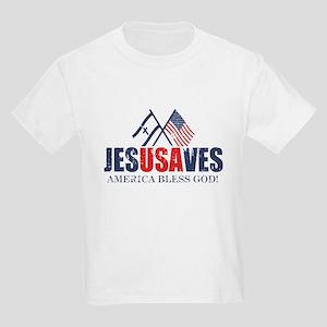 Jesus Saves Kids Light T-Shirt