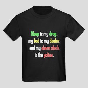 Sleep is my drug Kids Dark T-Shirt